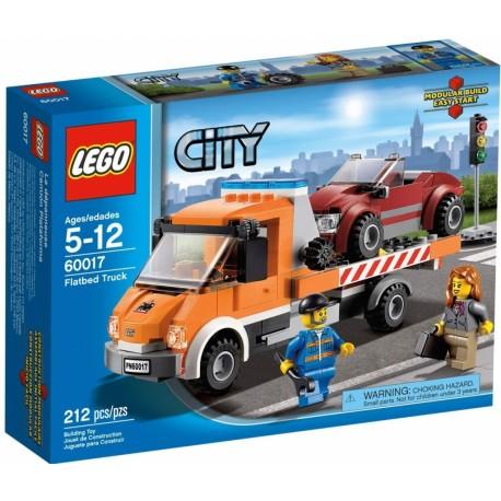 Lego City 60017 Auto s plochou korbou