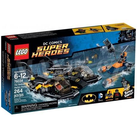 LEGO Super Heroes 76034 Honička v přístavu s Batmanovým vznášedlem